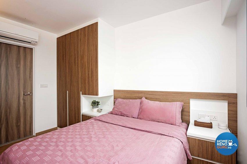 Scandinavian Design - Bedroom - HDB 4 Room - Design by DB Studio Pte Ltd
