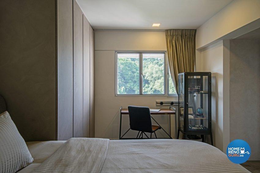 Eclectic Design - Bedroom - HDB 4 Room - Design by DB Studio Pte Ltd