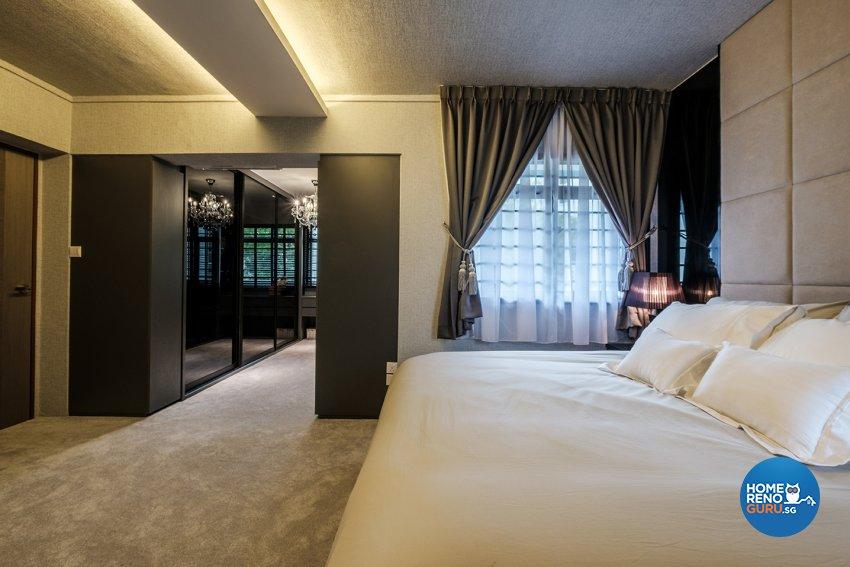 Contemporary, Modern Design - Bedroom - HDB 5 Room - Design by DB Studio Pte Ltd