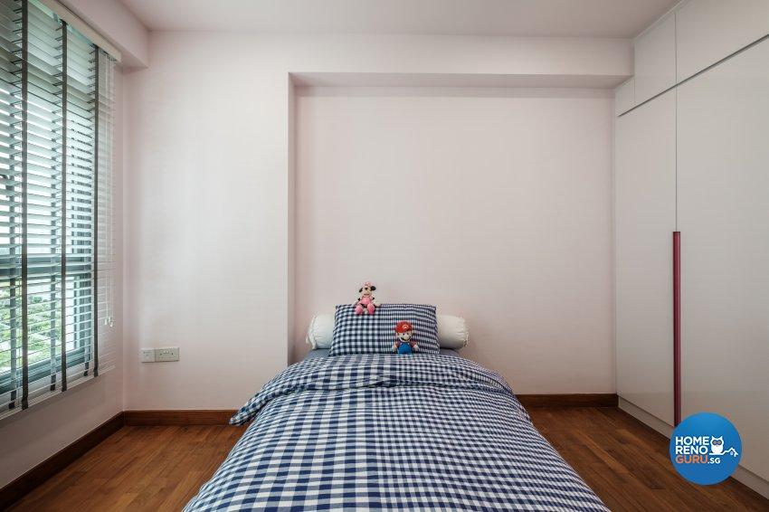 Minimalist Design - Bedroom - HDB 5 Room - Design by DB Studio Pte Ltd