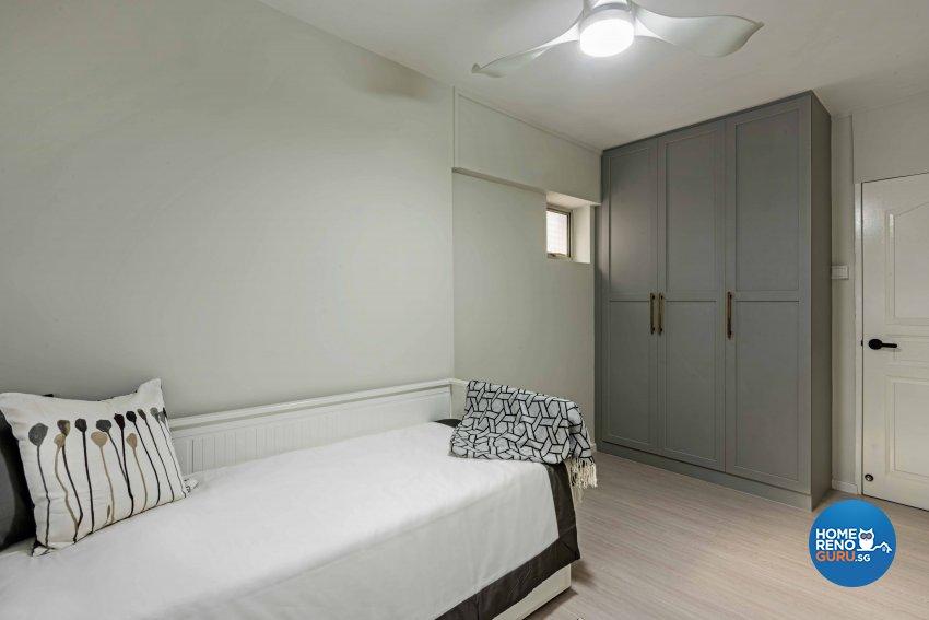 Country, Scandinavian Design - Bedroom - HDB 5 Room - Design by DB Studio Pte Ltd