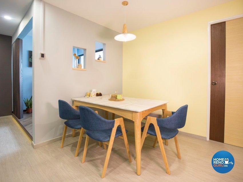 Contemporary Design - Dining Room - HDB 5 Room - Design by DB Studio Pte Ltd
