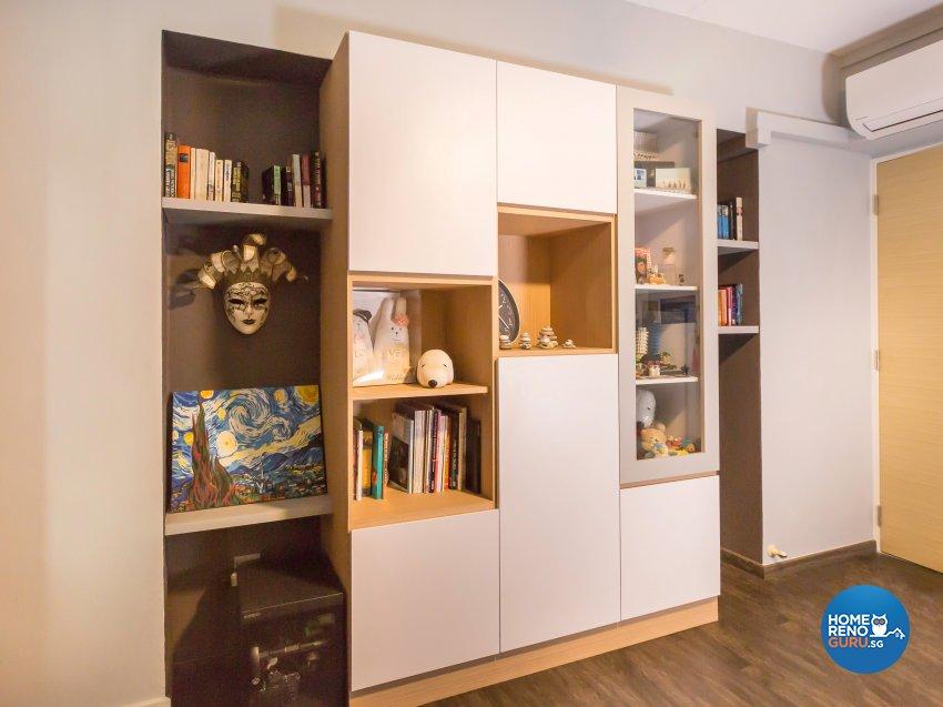 Contemporary Design - Study Room - HDB 5 Room - Design by DB Studio Pte Ltd
