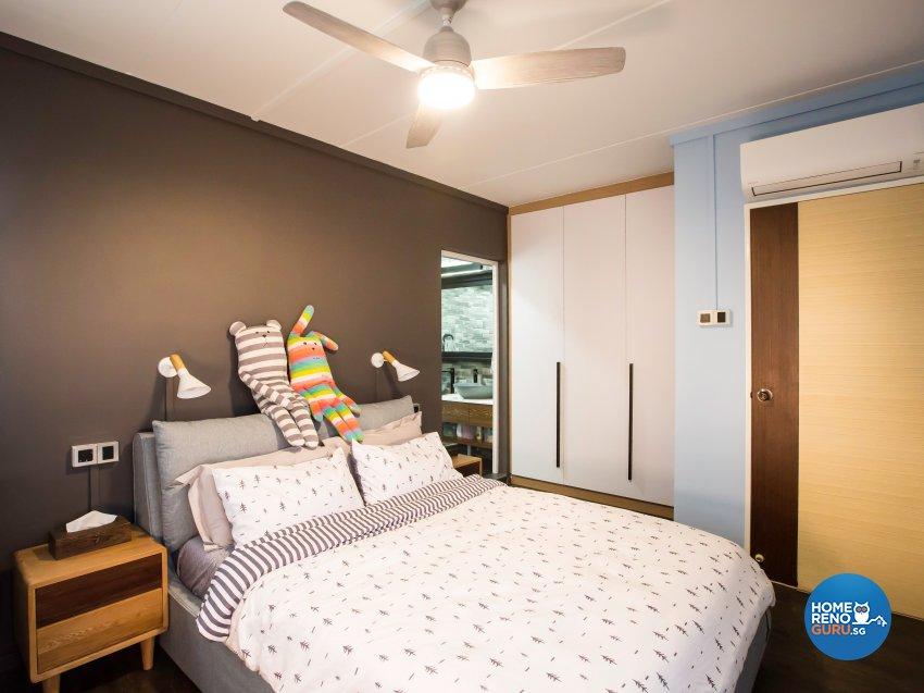 Contemporary Design - Bedroom - HDB 5 Room - Design by DB Studio Pte Ltd