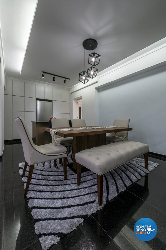 Modern Design - Dining Room - HDB 5 Room - Design by DB Studio Pte Ltd
