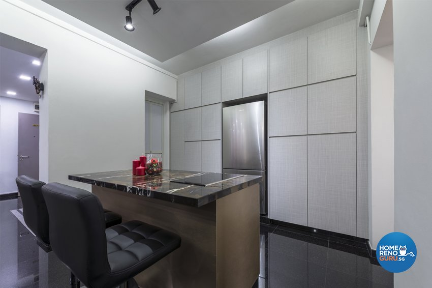 Modern Design - Kitchen - HDB 5 Room - Design by DB Studio Pte Ltd