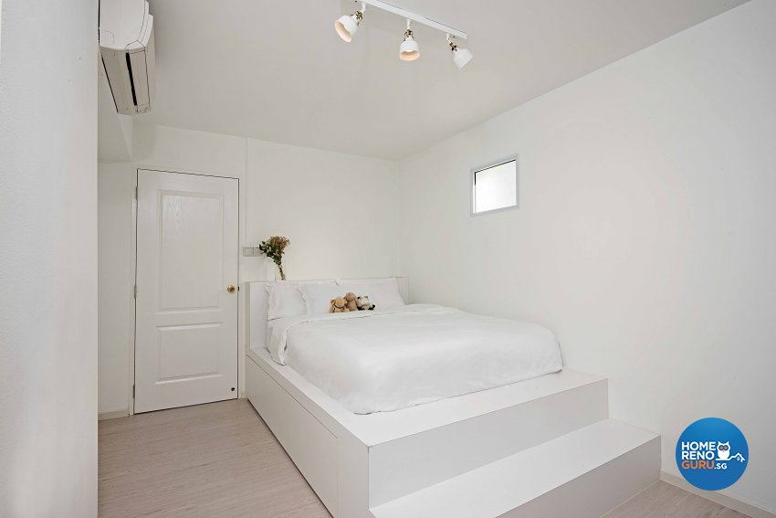 Minimalist Design - Bedroom - HDB 5 Room - Design by DB Studio Pte Ltd
