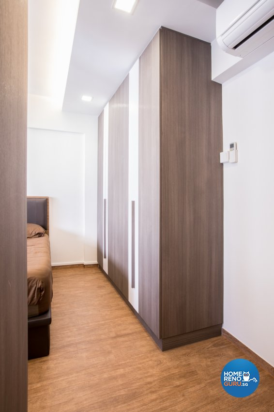 Modern Design - Bedroom - HDB Executive Apartment - Design by DB Studio Pte Ltd
