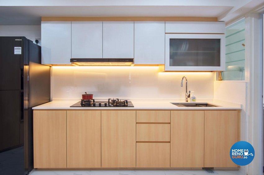 Contemporary Design - Kitchen - Condominium - Design by DB Studio Pte Ltd