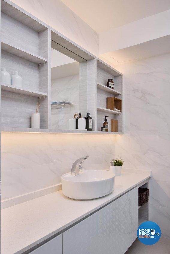 Contemporary Design - Bathroom - Condominium - Design by DB Studio Pte Ltd