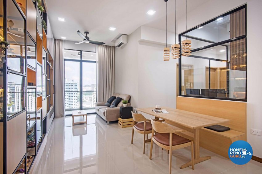 Contemporary, Modern, Scandinavian Design - Living Room - Condominium - Design by DB Studio Pte Ltd