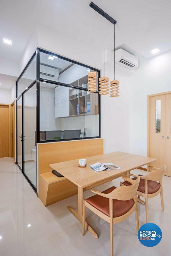 Contemporary, Modern, Scandinavian Design - Dining Room - Condominium - Design by DB Studio Pte Ltd