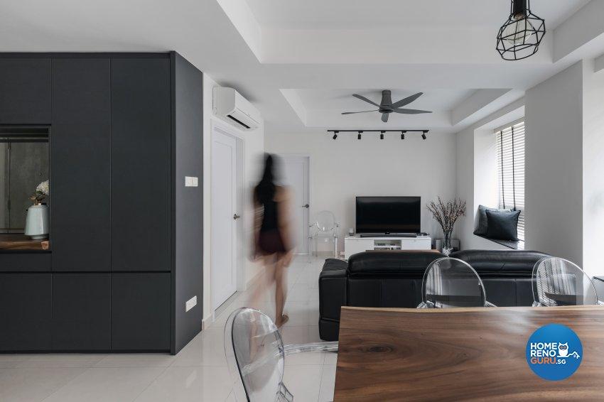 Contemporary, Minimalist, Modern Design - Living Room - Condominium - Design by DB Studio Pte Ltd