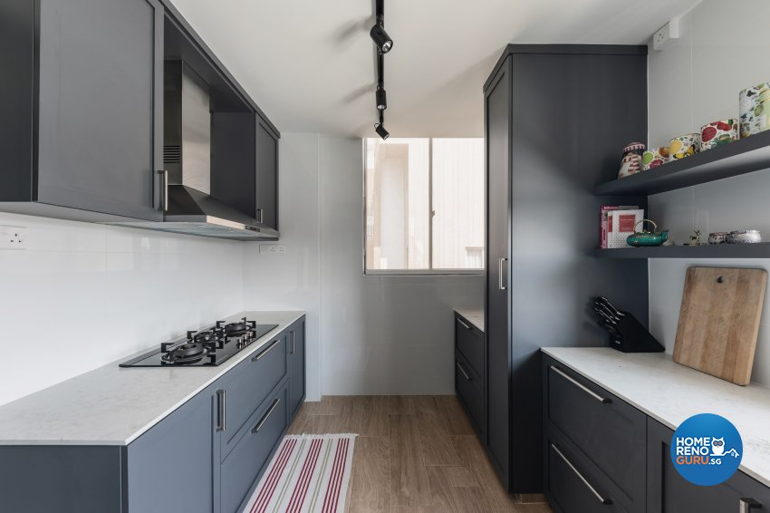 Contemporary, Minimalist, Modern Design - Kitchen - Condominium - Design by DB Studio Pte Ltd