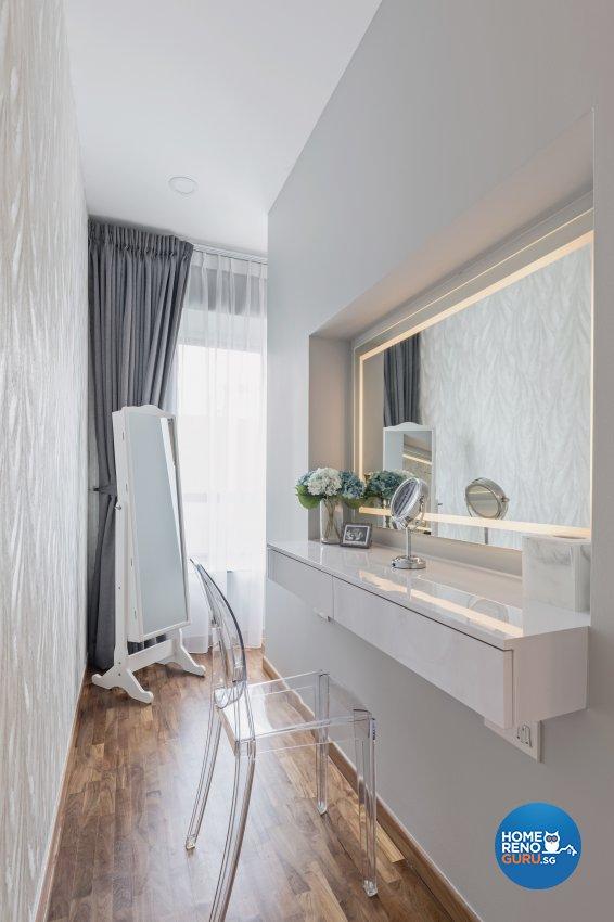 Contemporary, Minimalist, Modern Design - Bedroom - Condominium - Design by DB Studio Pte Ltd