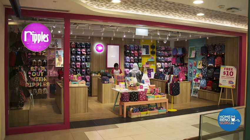 Eclectic Design - Commercial - Retail - Design by DB Studio Pte Ltd