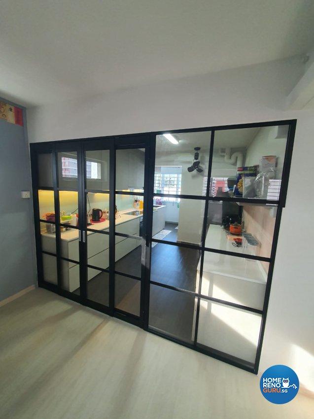 Contemporary, Modern Design - Kitchen - HDB 4 Room - Design by D'Brain Studio
