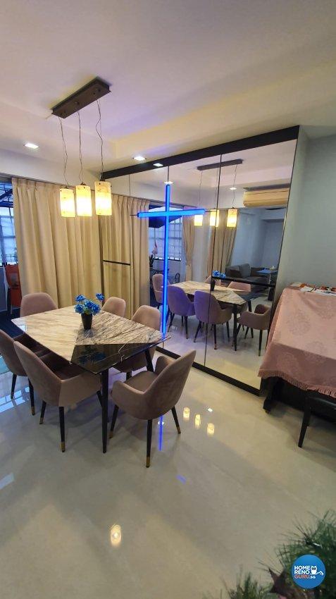 Contemporary, Modern, Others Design - Dining Room - Condominium - Design by D'Brain Studio