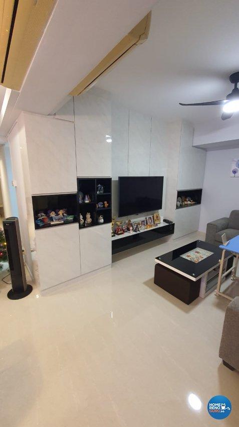 Contemporary, Modern, Others Design - Living Room - Condominium - Design by D'Brain Studio