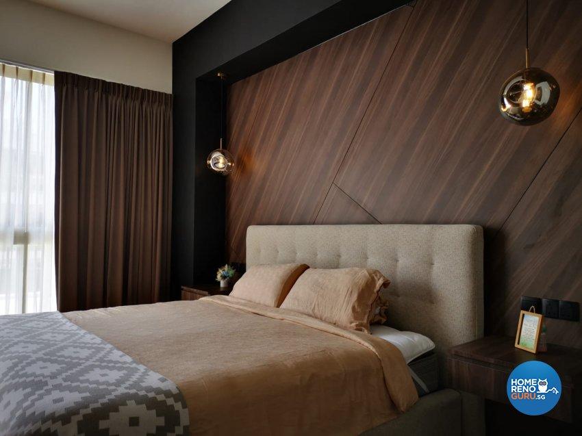 Contemporary, Modern Design - Bedroom - Landed House - Design by D'Brain Studio