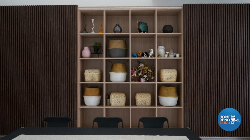 Contemporary, Modern Design - Living Room - Landed House - Design by D'Brain Studio