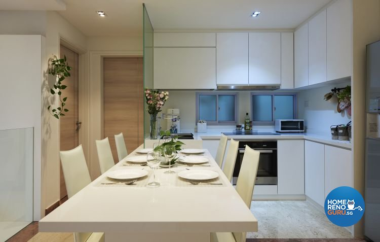 Modern, Resort Design - Dining Room - Landed House - Design by DC Vision Design Pte Ltd