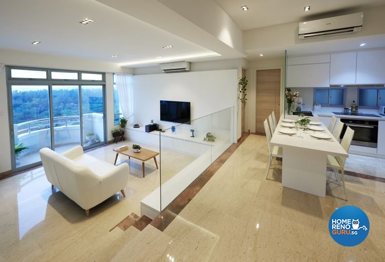 Modern, Resort Design - Living Room - Landed House - Design by DC Vision Design Pte Ltd