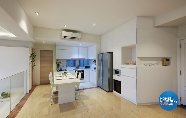 Modern, Resort Design - Kitchen - Landed House - Design by DC Vision Design Pte Ltd