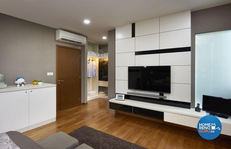 Contemporary, Modern Design - Living Room - Landed House - Design by DC Vision Design Pte Ltd