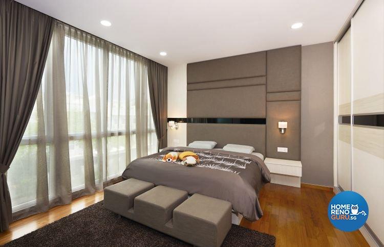 Contemporary, Modern Design - Bedroom - Landed House - Design by DC Vision Design Pte Ltd