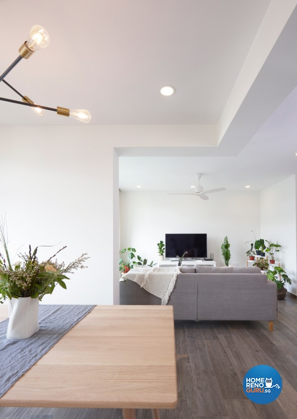 Victorian Design - Living Room - HDB 4 Room - Design by DC Vision Design Pte Ltd