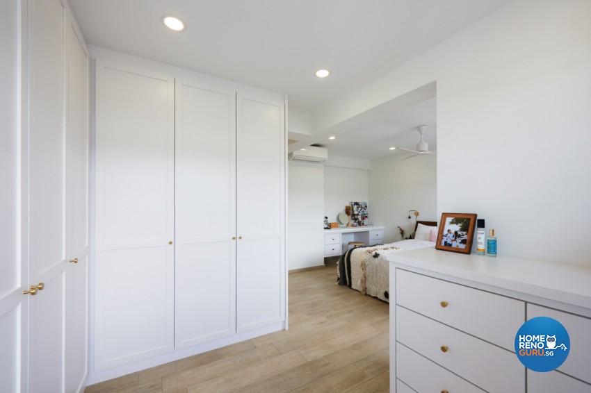 Victorian Design - Bedroom - HDB 4 Room - Design by DC Vision Design Pte Ltd