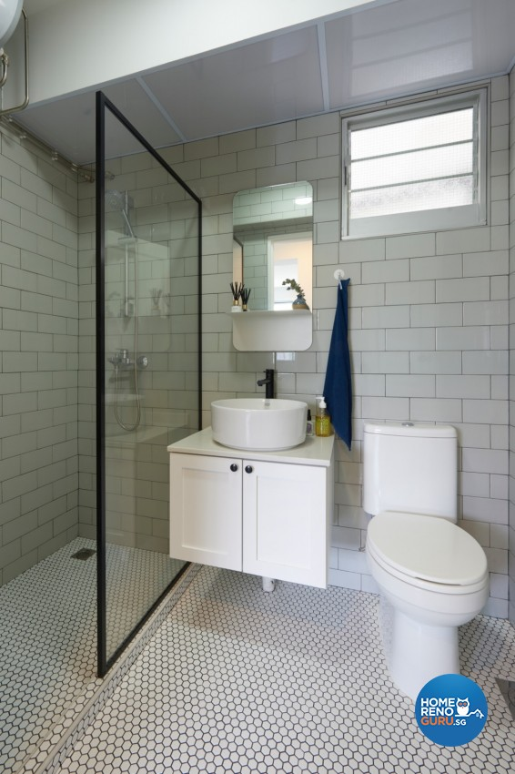 Victorian Design - Bathroom - HDB 4 Room - Design by DC Vision Design Pte Ltd