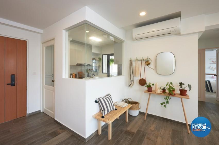 Victorian Design - Kitchen - HDB 4 Room - Design by DC Vision Design Pte Ltd