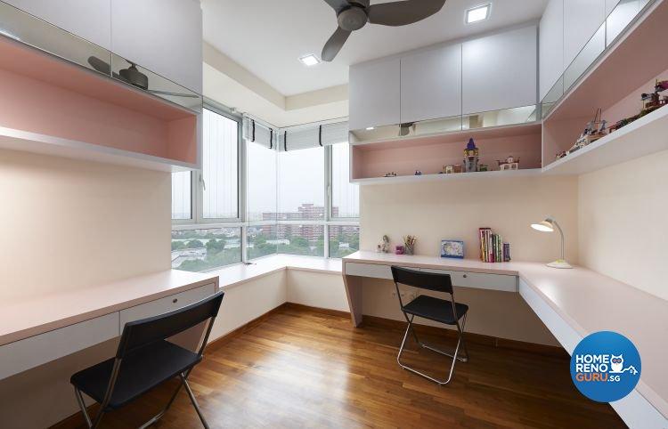 Contemporary, Modern Design - Study Room - Condominium - Design by DC Vision Design Pte Ltd