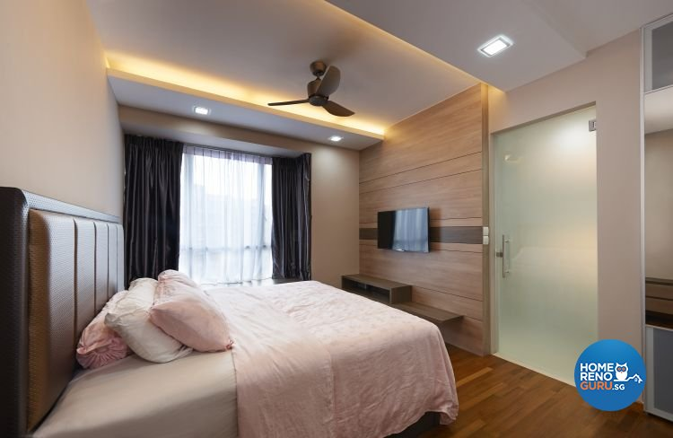 Contemporary, Modern Design - Bedroom - Condominium - Design by DC Vision Design Pte Ltd