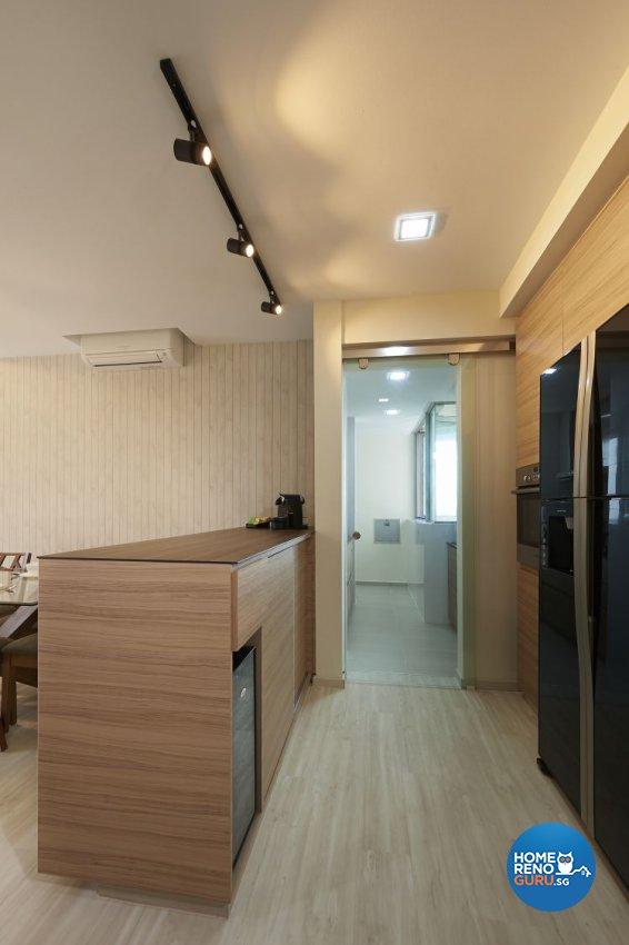 Contemporary, Modern Design - Living Room - Condominium - Design by DC Vision Design Pte Ltd