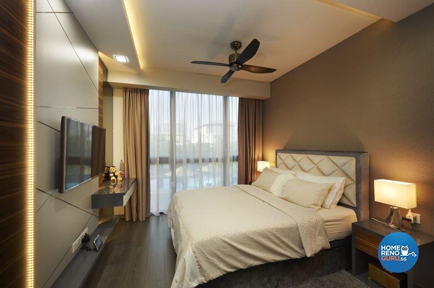 Modern Design - Bedroom - Condominium - Design by DC Vision Design Pte Ltd