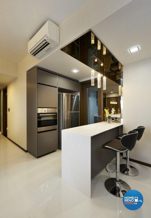 Modern Design - Living Room - Condominium - Design by DC Vision Design Pte Ltd