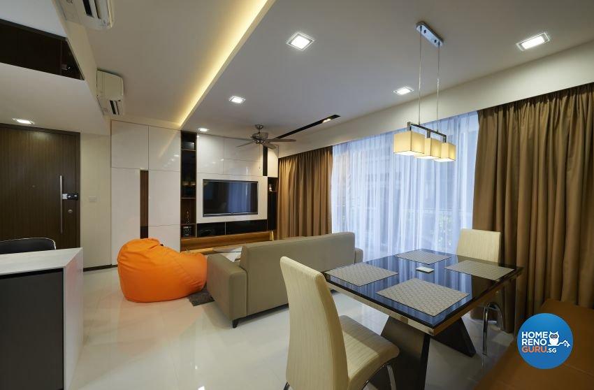 Modern Design - Dining Room - Condominium - Design by DC Vision Design Pte Ltd