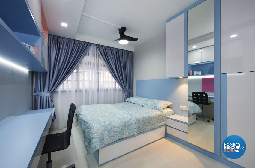 Contemporary, Modern Design - Bedroom - HDB 5 Room - Design by DC Vision Design Pte Ltd