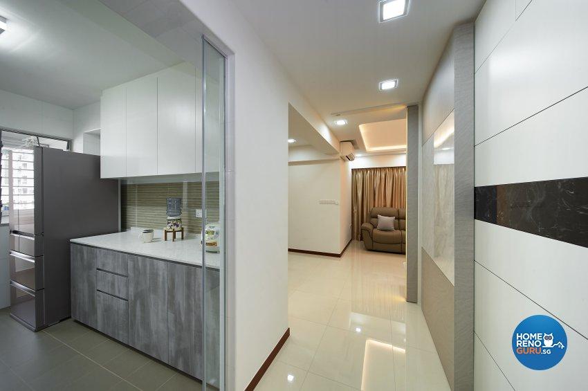 Modern, Others, Scandinavian Design - Kitchen - HDB 4 Room - Design by DC Vision Design Pte Ltd