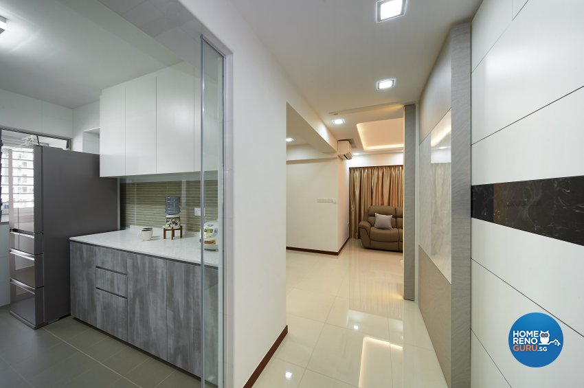 Modern, Others, Scandinavian Design - Kitchen - HDB 4 Room - Design by DC Vision Design Pte Ltd
