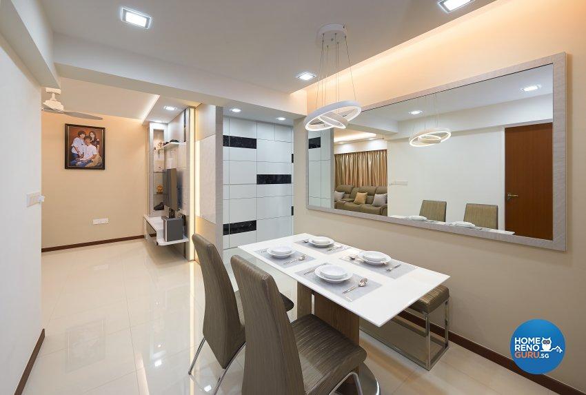 Modern, Others, Scandinavian Design - Dining Room - HDB 4 Room - Design by DC Vision Design Pte Ltd