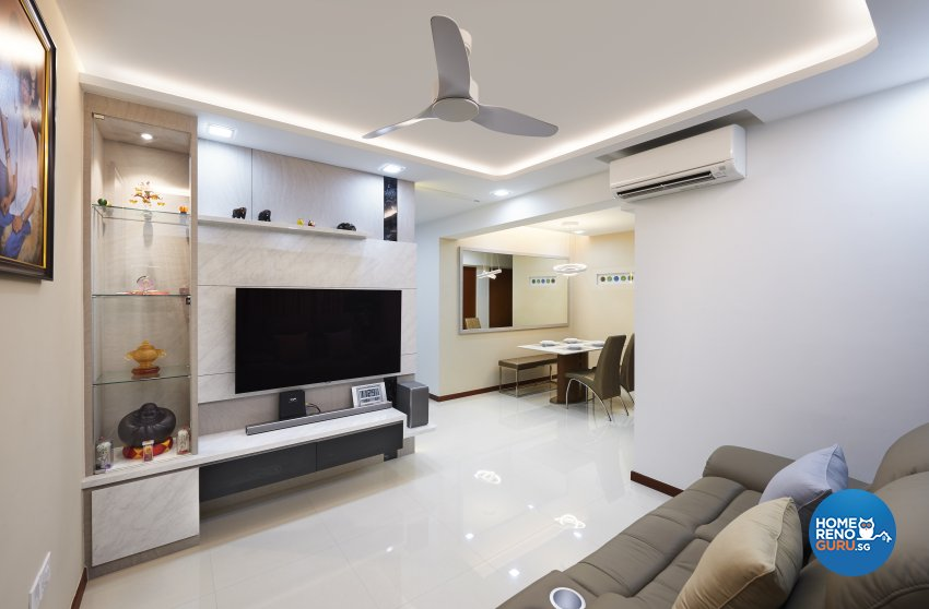 Modern, Others, Scandinavian Design - Living Room - HDB 4 Room - Design by DC Vision Design Pte Ltd