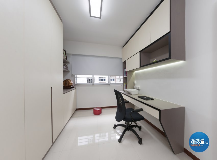 Modern, Others, Scandinavian Design - Study Room - HDB 4 Room - Design by DC Vision Design Pte Ltd