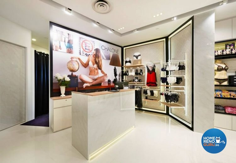 Classical Design - Commercial - Retail - Design by DC Vision Design Pte Ltd
