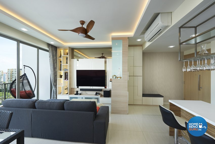 Contemporary, Modern, Victorian Design - Living Room - Condominium - Design by DC Vision Design Pte Ltd