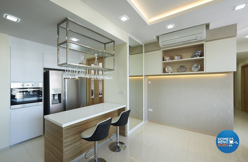 Contemporary, Modern, Victorian Design - Kitchen - Condominium - Design by DC Vision Design Pte Ltd