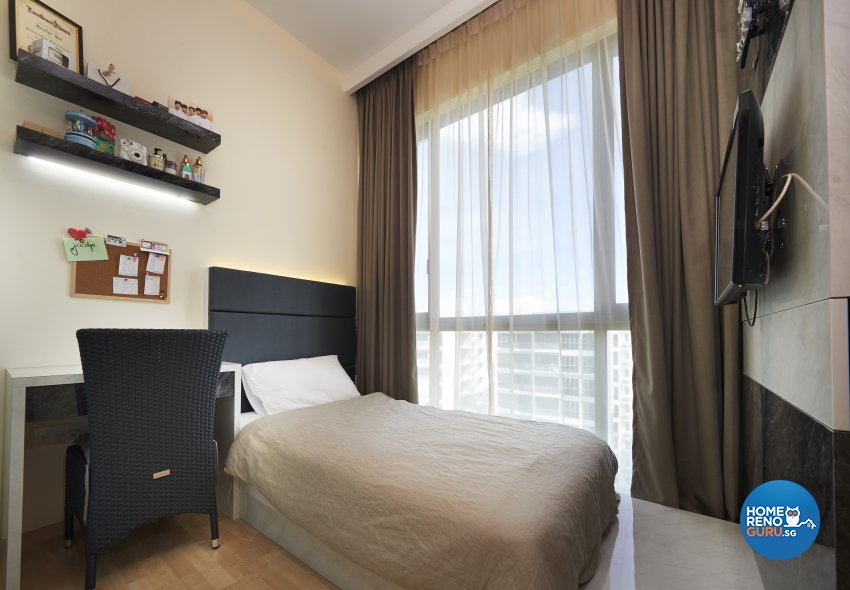 Contemporary, Modern, Victorian Design - Bedroom - Condominium - Design by DC Vision Design Pte Ltd